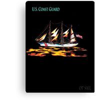 United States Coast Guard Canvas Print