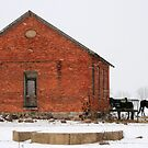 Brick Barn in Ohio by Susan Russell
