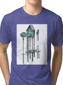 House, Home Tri-blend T-Shirt