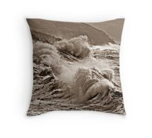 """For those in peril"" Throw Pillow"