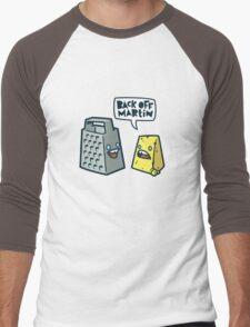 Back Off Martin! Men's Baseball ¾ T-Shirt