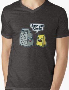 I Love You Simon Mens V-Neck T-Shirt