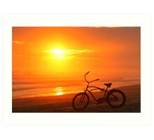 Sunset Cruiser Art Print