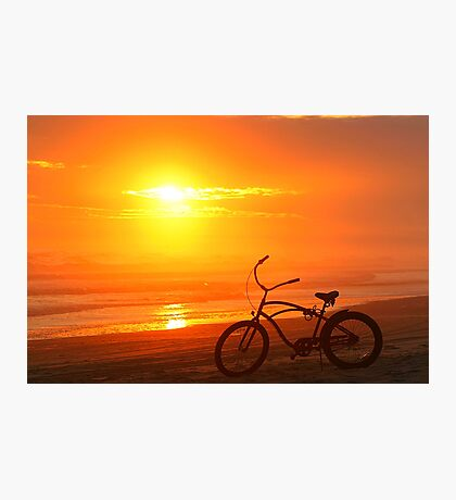 Sunset Cruiser Photographic Print