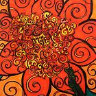 Orange Flower Explosion by BeccaAlysse