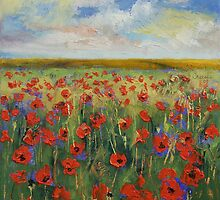 Landscape Paintings Art Calendar by Michael Creese