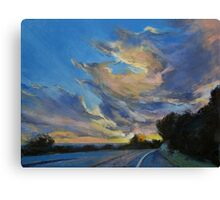 The Road to Sunset Beach Canvas Print