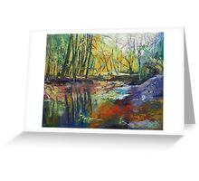 Little Sewickley Creek Greeting Card