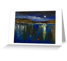Blue Nocturne Greeting Card