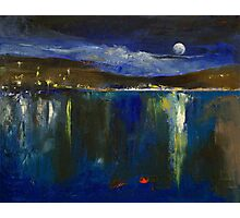 Blue Nocturne Photographic Print