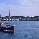 Fishing boat returning to Killybegs Harbour, Donegal, Ireland, circa 1959 by Andrew Jones