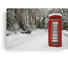 The Telephone box Canvas Print
