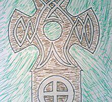 Earth Cross by Risteárd Ó' hAllmhuráin