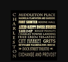 Charleston South Carolina Famous Landmarks Unisex T-Shirt