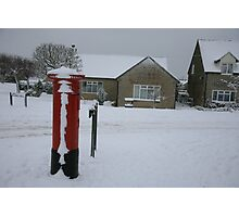 The Postbox in Bussage Photographic Print