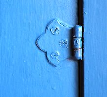 Blue•Hinge by Robert Meyer
