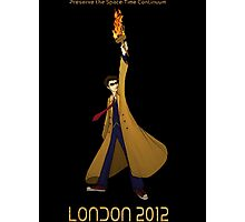 Preserve the Space-Time Continuum: The Doctor in London 2012 Photographic Print