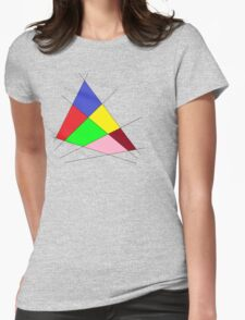 Colorful Udesign Womens Fitted T-Shirt