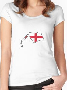 Oulton Park Women's Fitted Scoop T-Shirt