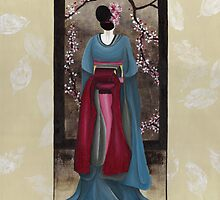 Geisha #1 : Japanese Art by soniei