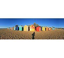Richmond beach - Melbourne Photographic Print