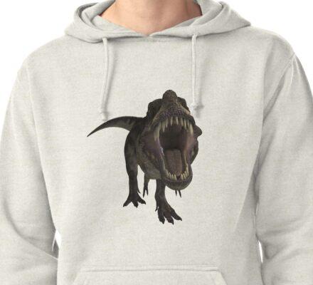 T-Rex Pullover Hoodie