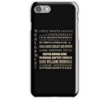 Montgomery Alabama Famous Landmarks iPhone Case/Skin