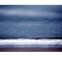 Seagull streaks Photographic Print