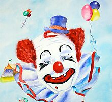 Felix Adler Professional Clown by henrytheartist