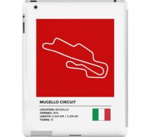Mugello Circuit - v2 iPad Case/Skin