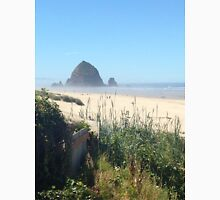 Photo of Haystack Rock by Dore' Unisex T-Shirt
