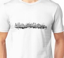 Composed Cityscape Unisex T-Shirt