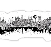 Composed Cityscape Sticker