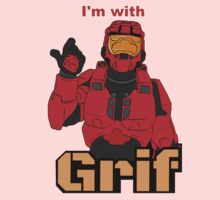 I'm with Grif Baby Tee