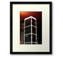The Platinum Tower Framed Print