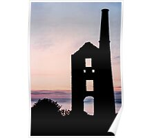 Carn Galver Mine, Cornwall Poster