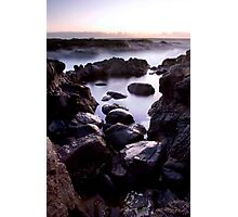 the rock pool story Photographic Print