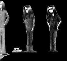 Rag Doll Type O Negative (Black) by Hannah Christine Nicholson