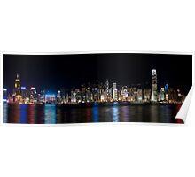 a historic Hong Kong landscape Poster