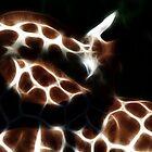 Giraffe by Heike Nagel