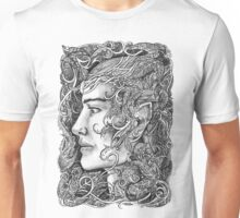Portrait of an elf Unisex T-Shirt