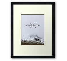im happy. Framed Print