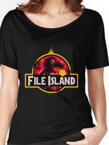 File Island Women's Relaxed Fit T-Shirt
