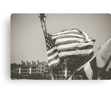Guardian Flag Canvas Print