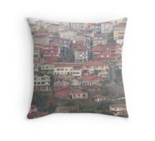 Houses in Paşabahçe,Istanbul Throw Pillow