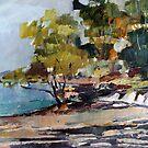 Beach Scene by Paul  Milburn