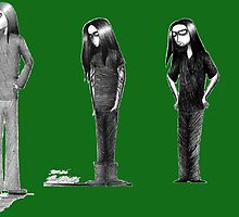 Rag Doll Type O Negative (Green) by Hannah Christine Nicholson