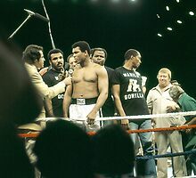 Ali being interviewed at weigh-in 2 by cjkuntze