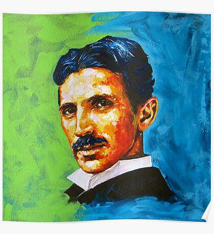 The Great Inventor - A Nikola Tesla Tribute Poster