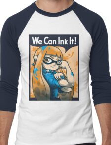 We Can Ink It! Men's Baseball ¾ T-Shirt